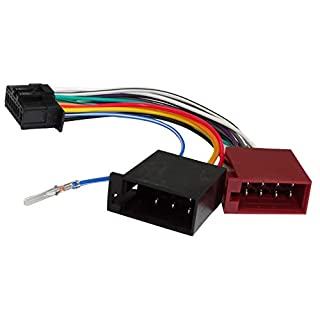 Aerzetix - Z3 ISO-Konverter - Adapter - Kabel Radioadapter Radio Kabel Stecker ISO-Kabel Verbindungskabel für Pioneer