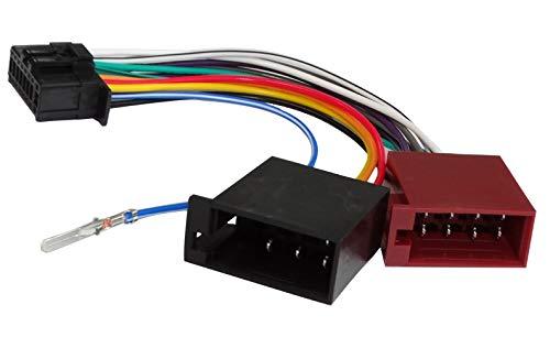 Aerzetix A mini cavo AUX adattatore ISO per jack da 3,5 mm per autoradio .