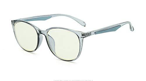 Delilya Blue Light Blocking Computer Brille Anti Blue Ray Square Brillen reduzieren die Belastung der Augen für Frauen Männer,Clear