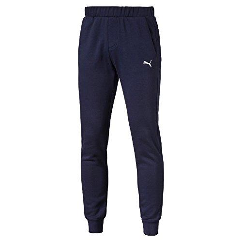 Puma Ess Sweat Slim Fl Pantalone Sportivo, Blu (Peacoat), M