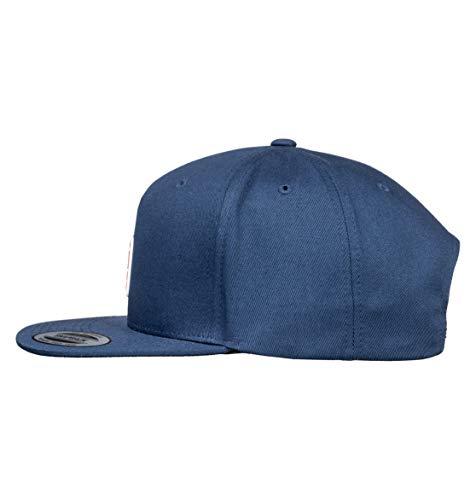 Imagen de dc apparel snapdragger cap, hombre, black iris, 1sz alternativa
