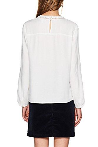ESPRIT Damen Bluse Weiß (Off White 110)