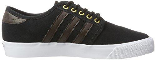 Adidas Herren Seeley Skateboardschuhe Schwarz (nucleo Nero / Marrone Scuro / Ftwr Bianco)