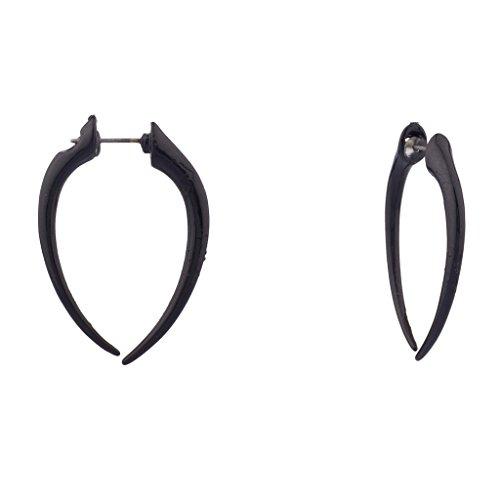 Lux accessori Nero, Orecchini a perno