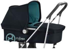 Cybex Callisto Carrycot Poussette Bleu marine/Moonlight