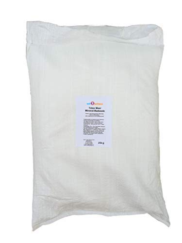 Meer Mineral Badesalz (Totes Meer Mineral Badesalz/Saunasalz grob im 25 kg Sack (originalverpackt) - 100% naturrein aus dem Toten Meer)