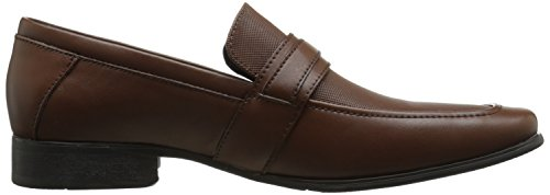 Calvin Klein Bartley Diamant-Leder Loafer British Tan