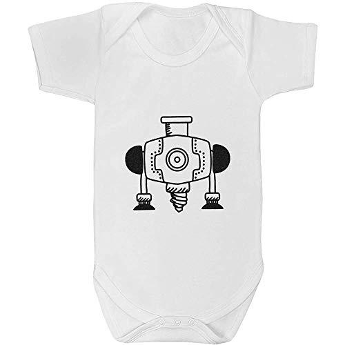 Azeeda 18-24 Monate 'Industriebohrer' Baby Body Unisex (GR00035379)