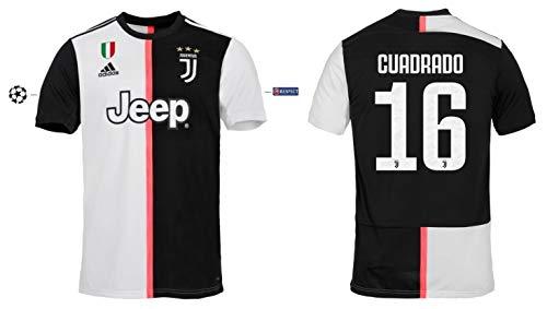 Juventus Turin Trikot Herren 2019-2020 Home UCL - Cuadrado 16 (XXXL)