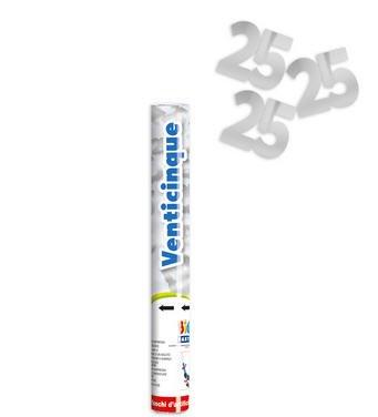 SPARA-CORIANDOLI-25-ANNI-METAL-ARGENTO