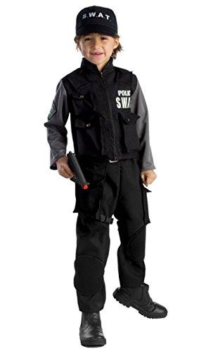 Dress Up America Kinder Jr. SWAT Team - Swat Team Kostüm Junge