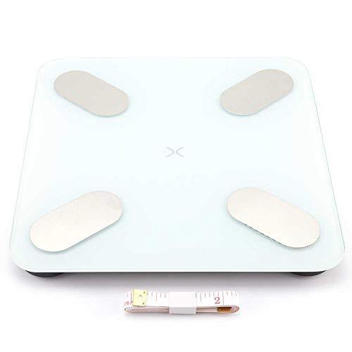 Pasamer Heavy Duty 180K Bluetooth Elektronische Waage Digitalanzeige mit APP Smart Analysis BMI, Muskel-, Stoffwechsel-BMR, Körperwasser(01) -