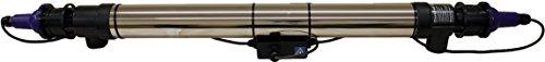 Cloverleaf 48WSS/SSUV Edelstahl-Sterilisator, Mehrfarbig, 1,23 x 20 x 14 cm