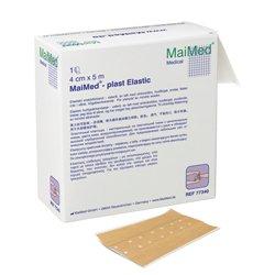 Wundpflaster MaiMed plast Elastic 6 cm x 5m 1 Stück/Box gebrauchsfertiger, hautfarbener, querelastischer