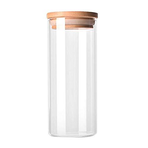 niuniuniu Transparente Borosilikatglas Küche Vorratsflasche Lebensmittelzutaten Süßigkeiten Keks Vorratsbehälter Familienorganisation Butterfly Ginger Jar