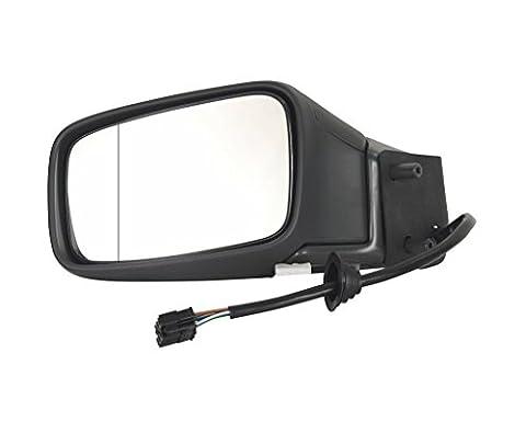 für Volvo S70 Ls V70 Lv Außenspiegel Links Asph. Ele. Heizb. schwarz