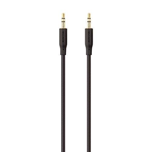 Belkin F3Y117BF2M 3,5mm Klinke Kabel (2,0m) schwarz mit goldkontakt 2 Belkin Ipod