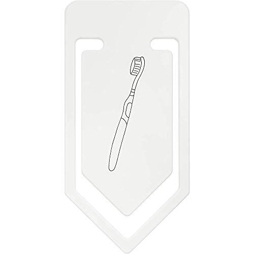 Azeeda 141mm \'Cepillo de Dientes\' Clip de Papel Plástico Gigante (CC00043052)