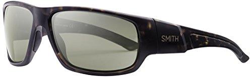 Smith Discord/N Sonnenbrille Herren Matt Tortoise/Brown bunt Matte Camouflage/Grey Green 64 mm