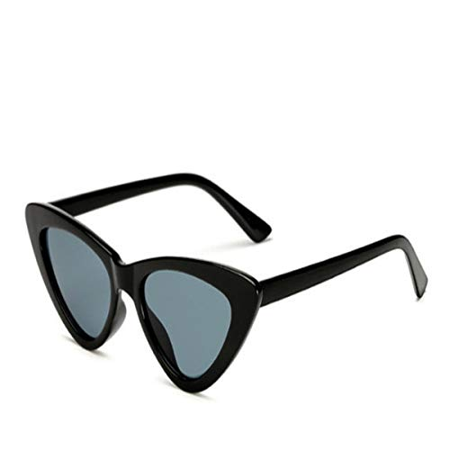 Sport-Sonnenbrillen, Vintage Sonnenbrillen, Small Cateye Triangle Cute Sexy Retro Cat Eye Sunglasses Women Black White Vintage Sun Glasses Oculos De Sol C1
