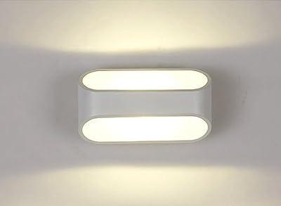 Unimall 5W LED Wandlampe innen schickt elegant minimalistisch ...