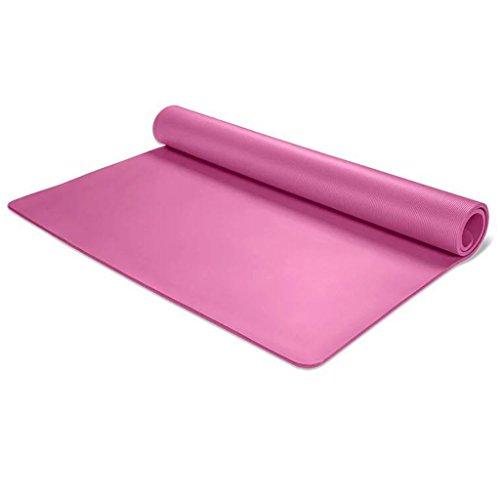 Riesige Trainings-Matte mit Tragegurt, Doppelte Dicke Breite Baby-Matte Für Reise Im Freien (Farbe : Pink, Größe : 10mm)