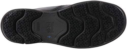 Timberland PRO Men s Boldon Slip on Alloy Toe SD  Industrial Shoe  Black Full Grain Leather  11 W US