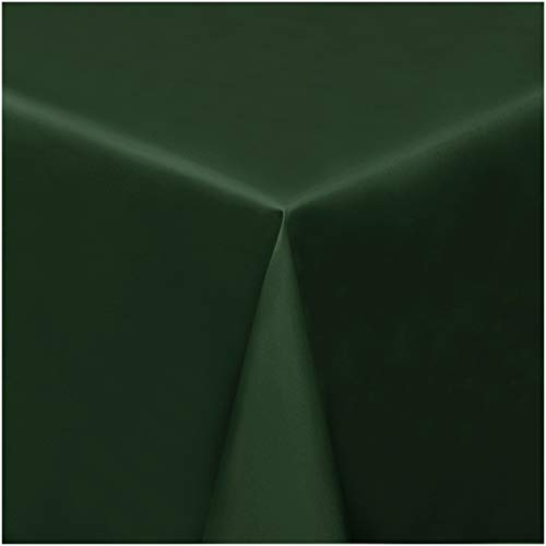 TEXMAXX Wachstuchtischdecke Wachstischdecke Wachstuch Tischdecke abwaschbar (8001-02) - 200 x 140 cm - mit Kreide bemalbare und abwischbare Tafel - PVC Tischdecke in Grün