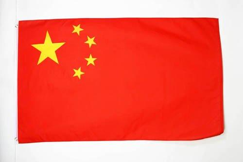 AZ FLAG Flagge China 150x90cm - CHINESISCHE Fahne 90 x 150 cm - flaggen Top Qualität China Top