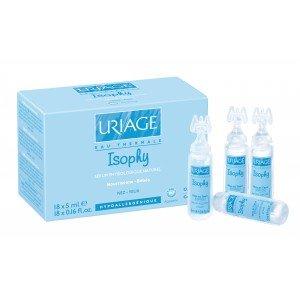 Uriage Isophy - Soluzione fisiologica naturale, 18 fialette da 5 ml