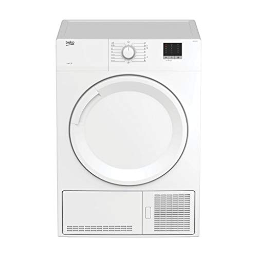 BEKO DB 7111 PA0 - Secadora Independiente, Carga frontal, Condensación, Giratorio, color Blanco