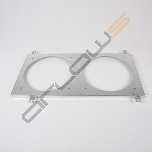 Alluminio Ventola lamiera Honda Prelude 97-01(supporto/fissaggio per (Spal Ventole Di Raffreddamento)