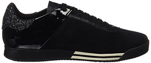 Geox D Chewa A, Sneakers Basses Femme Noir (Black)