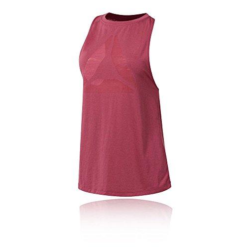 Reebok Burnout Women's Tank - AW18 - X Small (Reebok Rosa T-shirt)