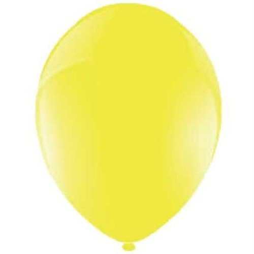 Amscan Luftballon, Latex, Celebration Yellow, 12,7 cm