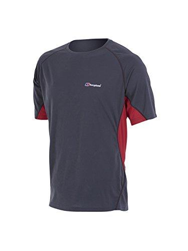 Berghaus Herren T-Shirt Tech Tee Short Sleeve Crew Neck Grau