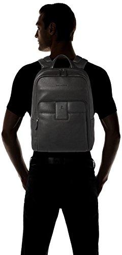 Piquadro Ili 14'' Sac Messager pour ordinateur portable noir schwarz