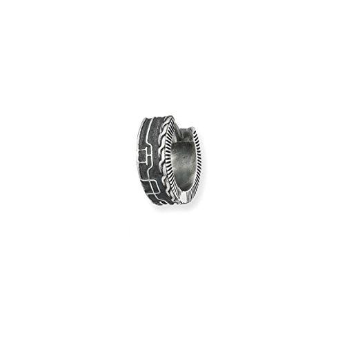 caï Herren-Creole 925 Silber vintage-oxidized ca. 13 mm