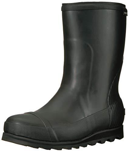 Sorel Damen Joan Rain Short Gummistiefel, Schwarz (Black/sea Salt), 38 EU Womens Pac Boots