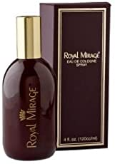 Royal Mirage Eau De Cologne Spray with Ayur Combo (Brazilian Tangerine, Haiti Lime, Madagascan Pepper, Indonesian Patchouli and Musk) 120ml