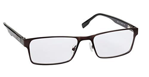 Generic Brillenfassungen Cecil Gee CG017, Fassungsfarbe Braun Matt/Schwarz Bügel, Mittelgroß