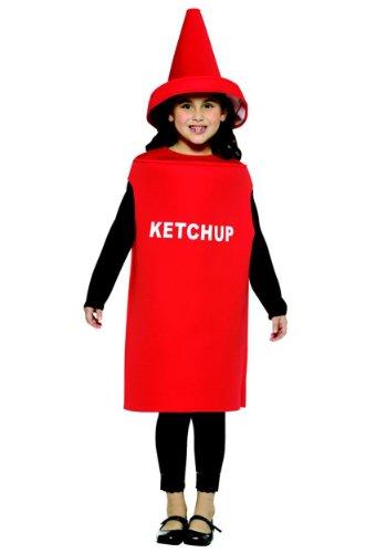 Ketchup - Kinder-Kostüm - Alter 7 bis 10