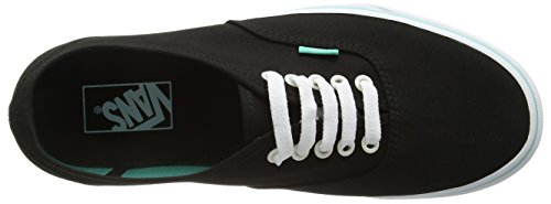 Vans Authentic, Sneakers Basses Mixte Adulte Noir (Iridescent Eyelets/Black)