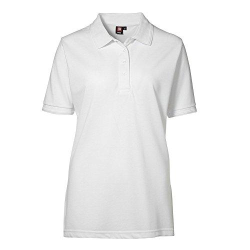 ID - Polo à manches courtes (coupe régulière) - Femme Blanc
