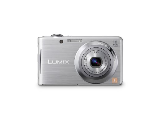 Panasonic Lumix FH5 14.1MP Point and Shoot Camera (Silver) with 4x Optical Zoom