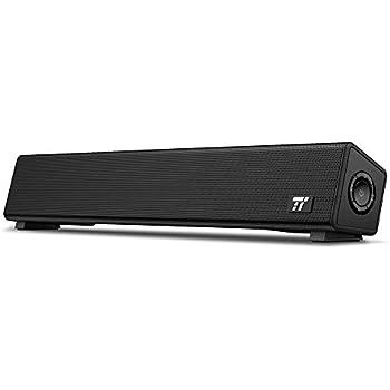TaoTronics PC Lautsprecher Soundbar mit Bluetooth 5.0