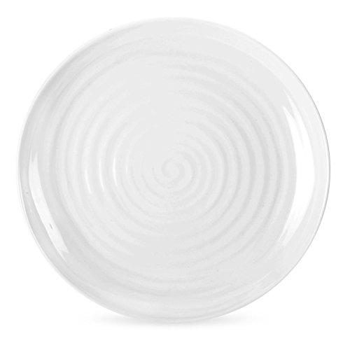 Portmeirion Sophie Conran-Piatto da Buffet, rotondo, colore: bianco, confezione da 4