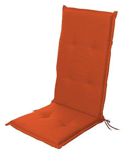 Stuhlauflage Hochlehner Auflage Sitzauflage Gartenstuhlauflage