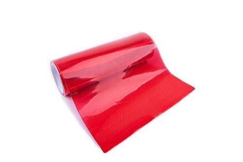 1A Style Sticker Rote Rückleuchtenfolie zur abdunklung der Rückleuchten am KFZ Auto, Motorrad 100cm x 30cm Folie Rot New Look Folie Auto Folierung Rückleuchten Red
