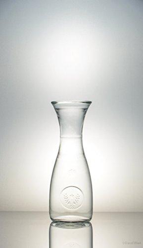 3er Set Bormioli Weinkaraffe Misura, Wasserkaraffe, Glas Karaffe Misura 0,50l